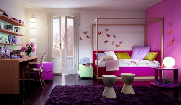Colorful Bedroom Furniture In Interior Design Image Pictures