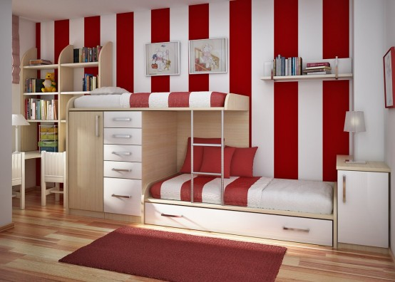 double bed teen room ideas