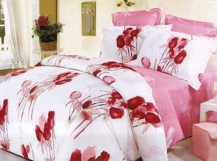 flowers bed cover