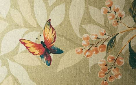 flying butterfly wall tile decor