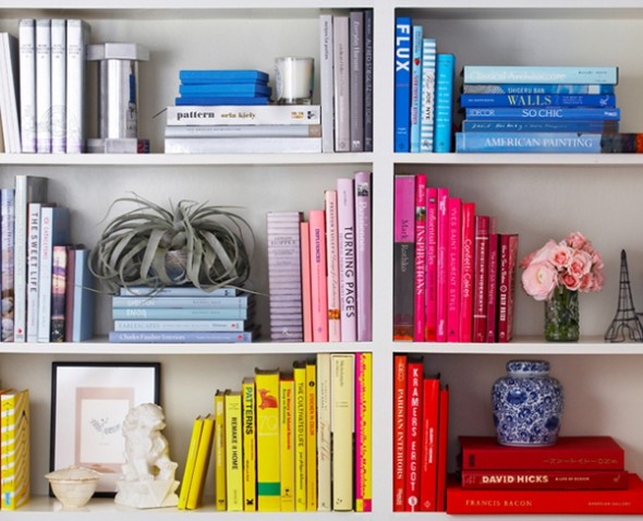 how to Decorating bookcase