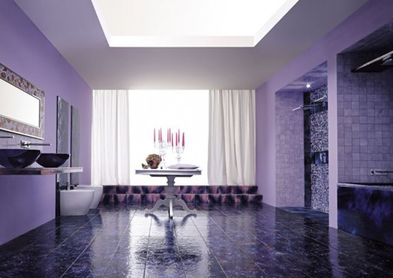 inspirations violet interior design Ideas07