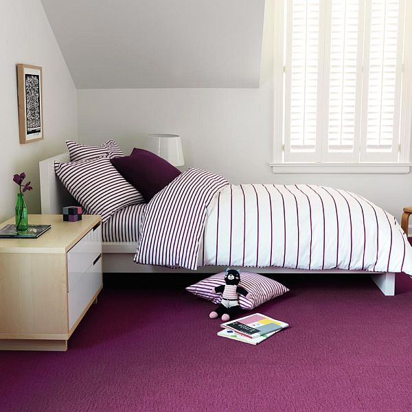 kids purple duvet boysenberry