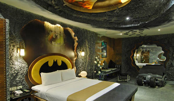 Unusual Bedroom Design Ideas Bathman Theme Bedroom Image