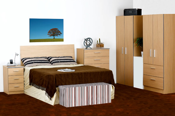 wood bedroom design