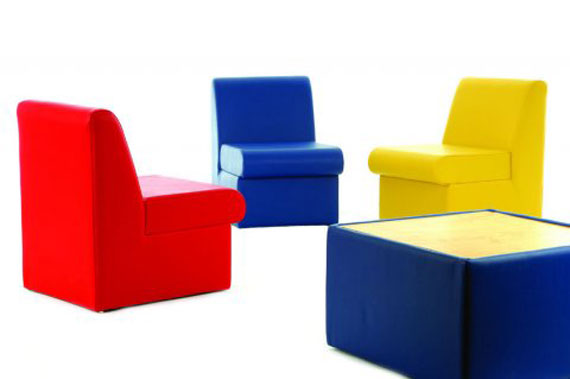 Colorful Office Sofas Design