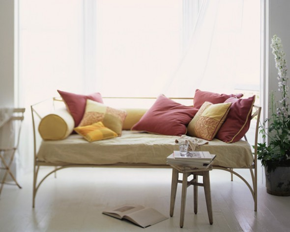 How to Make a Decorative DIY Sofas Couch by Window