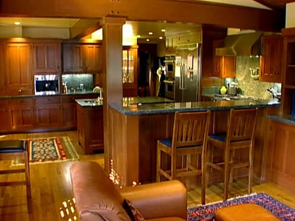 Kitchen Arts and Crafts Decorating has many aspects such as kitchen shapes and layout