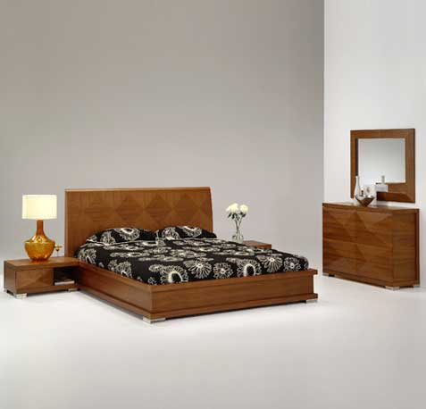Marquis Contemporary Bedroom Set by Statements
