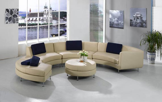 Minimalist Sectional Sofa Design
