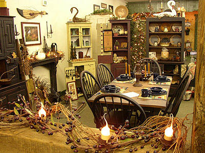 Primitive Country Home Decorating
