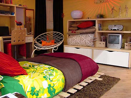 Teenage Bedroom Decorating Ideas by Ikea 2012