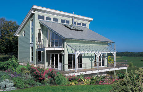 Traditional House Architecture Design in Nature