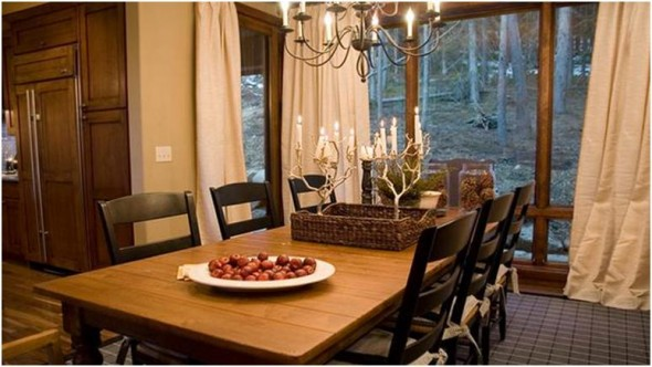 casual chic decorating make the dining room