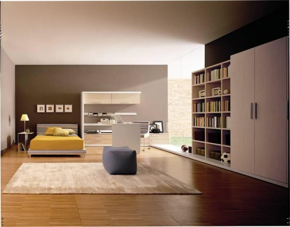 how to decorate spacious bedroom