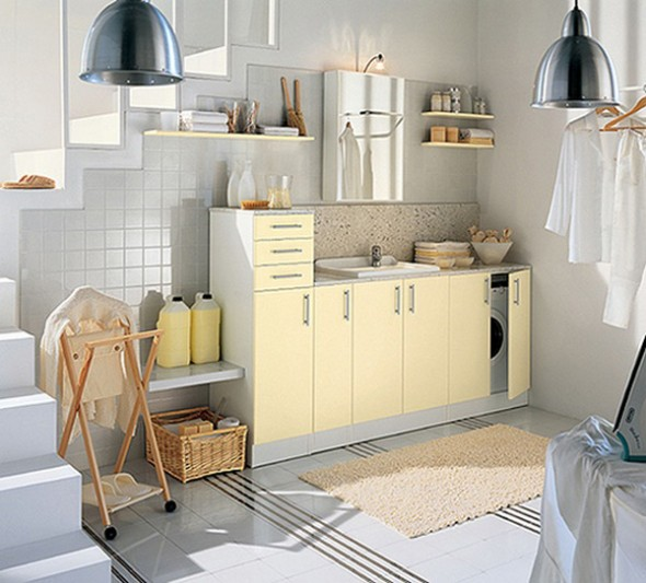 laundry storage room design idea