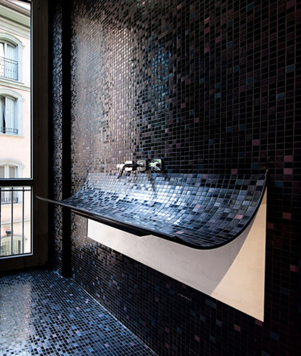 mosaic in interior designs