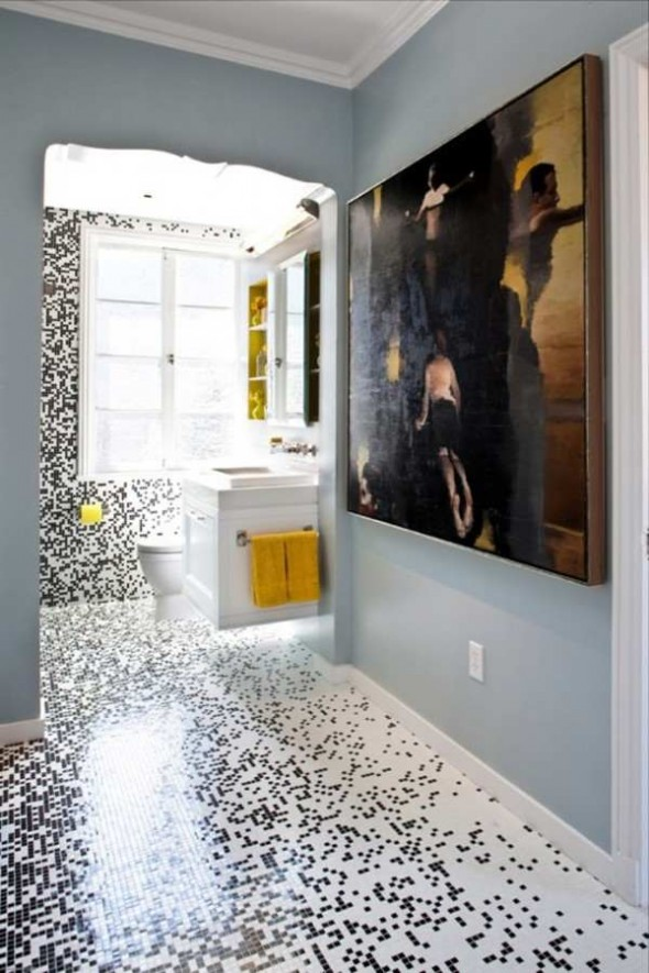mosaic interior designs