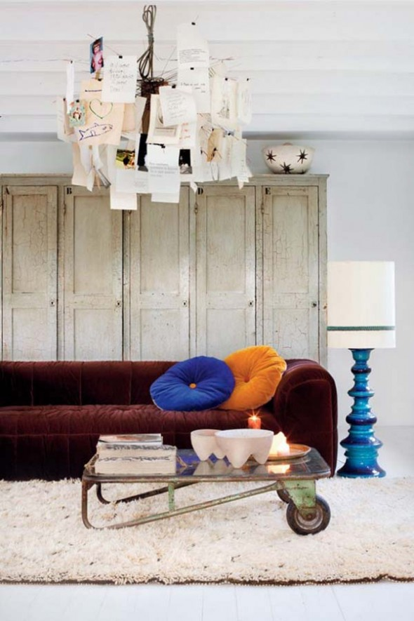 vintage sofa interior design