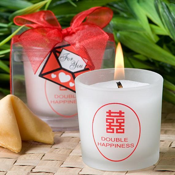 Asian Candle Favors Design13