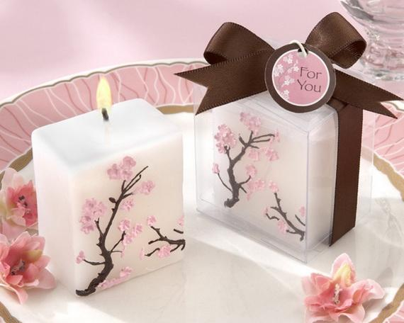 Asian Candle Favors Design16