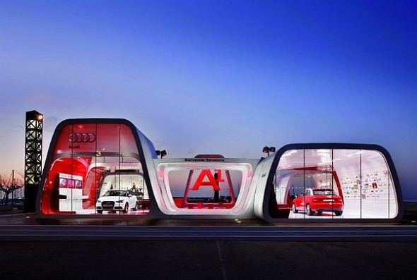 Audi AreA1 Showroom in Barcelona Architecs