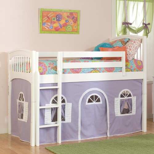 Bolton Furniture Windsor Low Loft Tent Bed-Bedroom Decorating Ideas for Creative Kids Rooms