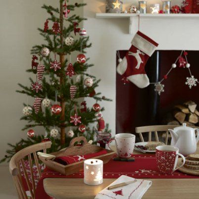 Christmas Dining Table decorating ideas03