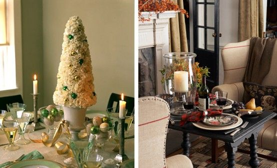 Christmas Dining Table decorating ideas05