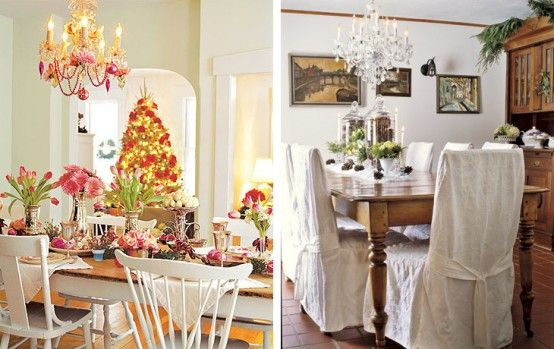 Christmas Dining Table decorating ideas07