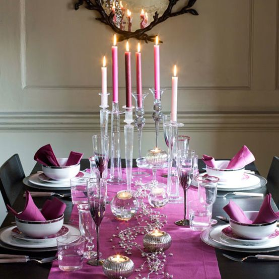 Christmas Dining Table decorating ideas09