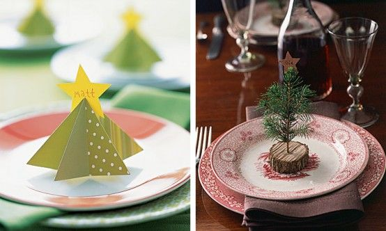 Christmas Dining Table decorating ideas15