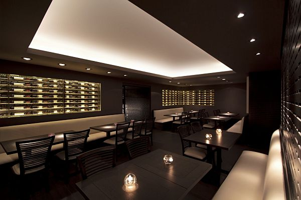 Elegant Dim Sum Bar Interior Design