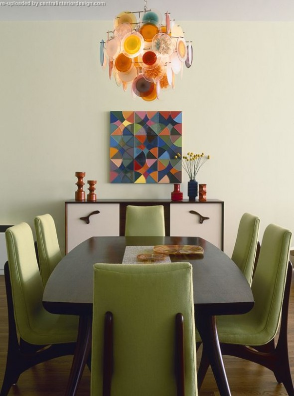 Dining Room Apartment by Amy Lau Design