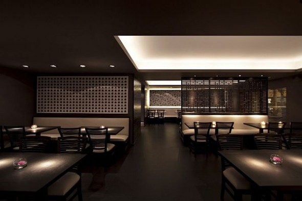 Elegant Dim Sum Bar Interior