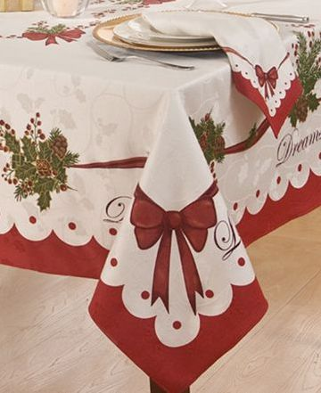 Homewear Table Linens Christmas Decorations