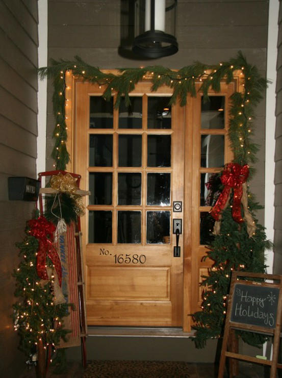 How To Decorate The Interior Of A House For Christmas Design3