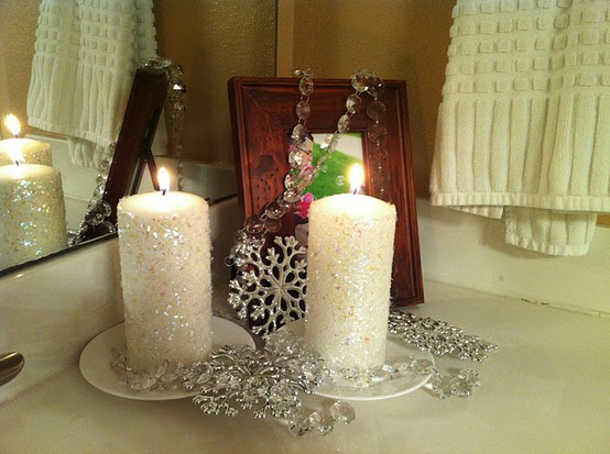 How To Decorate The Interior Of A House For Christmas Candles