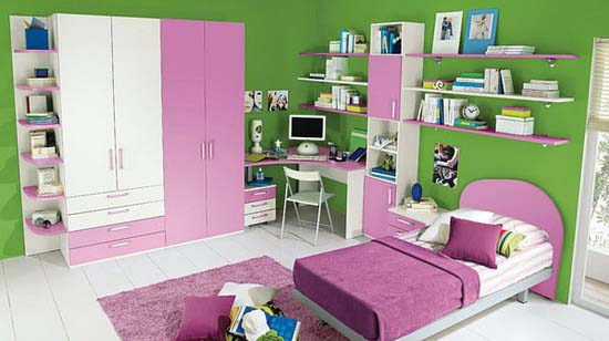 interior coloring girls room design