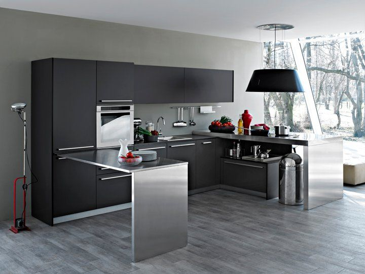 Italian Bold Fashionable Kitchen Design by Elmar Kitchen ideas46