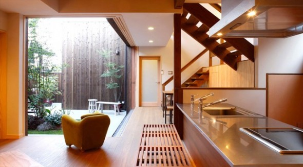 Modern Japanese Kitchen Decoration Interior Design