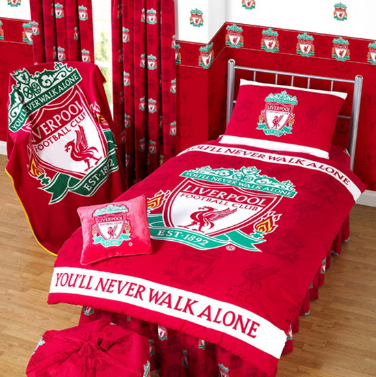 Liverpool FC Bedroom Interior Design And Furniture Ideas