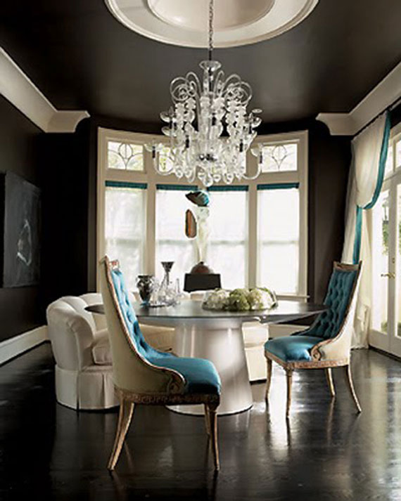 Luxurious Black Wall Paint