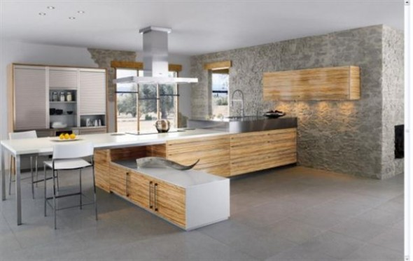Minimalist+Contemporary+French+Style+Kitchen+Designs