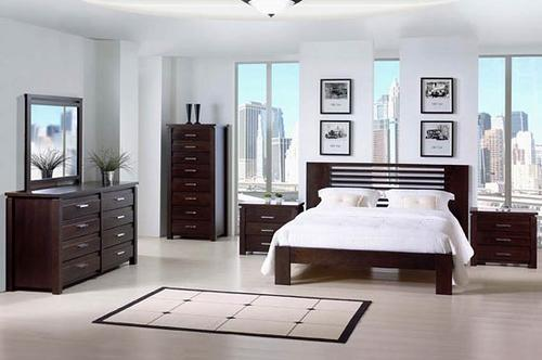 Minimalist modern bedroom decor design