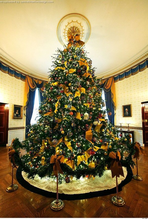 Official White House Christmas Tree-decorating Christmas