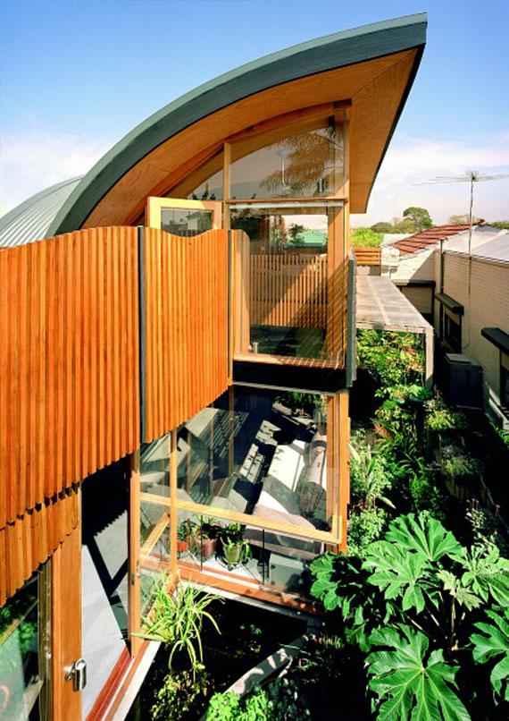 Cozy green architecture house design for healthy life for Green homes designs