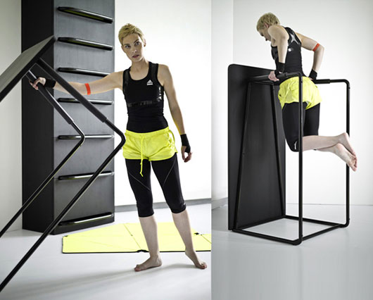 Space Saving Furniture and Fitness Equipment Design3