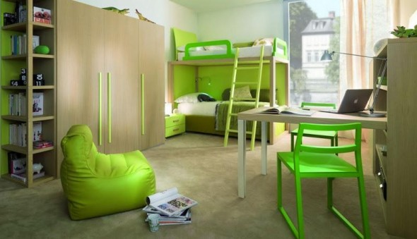 Twins Kids Bedroom Decoration and Design from Dearkids5
