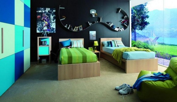 Twins Kids Bedroom Decoration and Design from Dearkids6